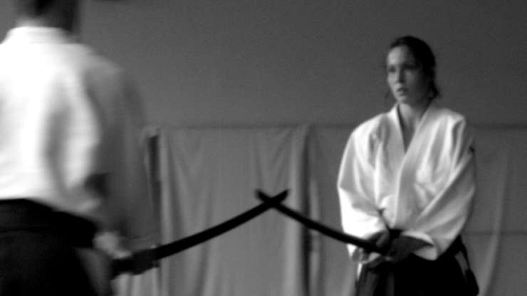 Aikido demonstrations in our dojo