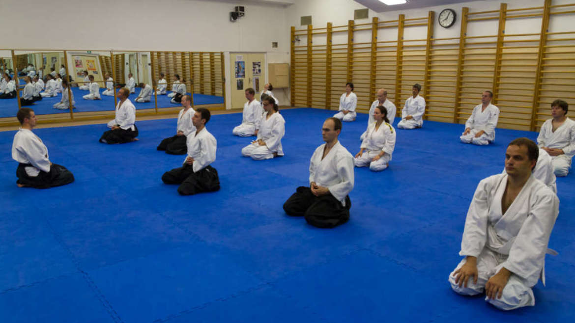Training after dojo reconstruction