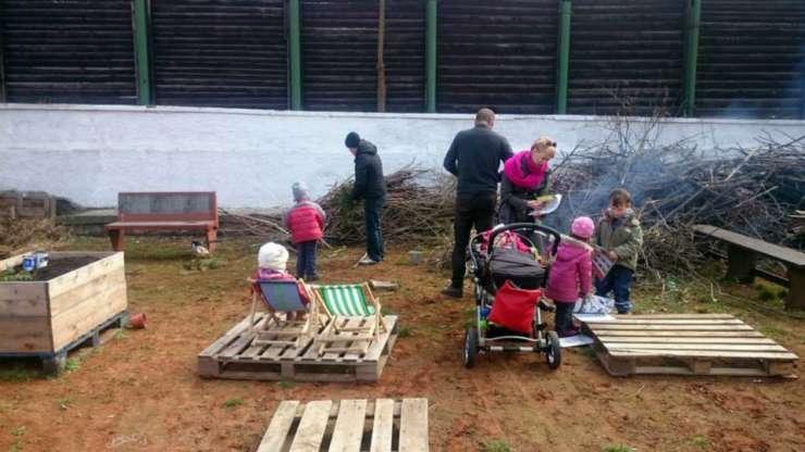 Jarní brigáda v Zelené zahradě Smetanka