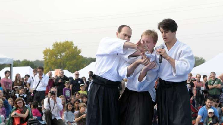 Aikido at Akimatsuri 2015