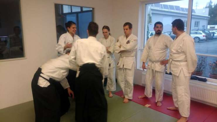 Lesson for trainers in Třebíč