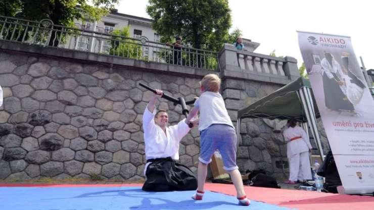 Aikido na Ratolest Festu 2016