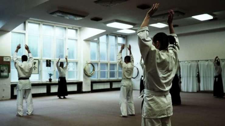 Aikido trénink, Praha Vinohrady