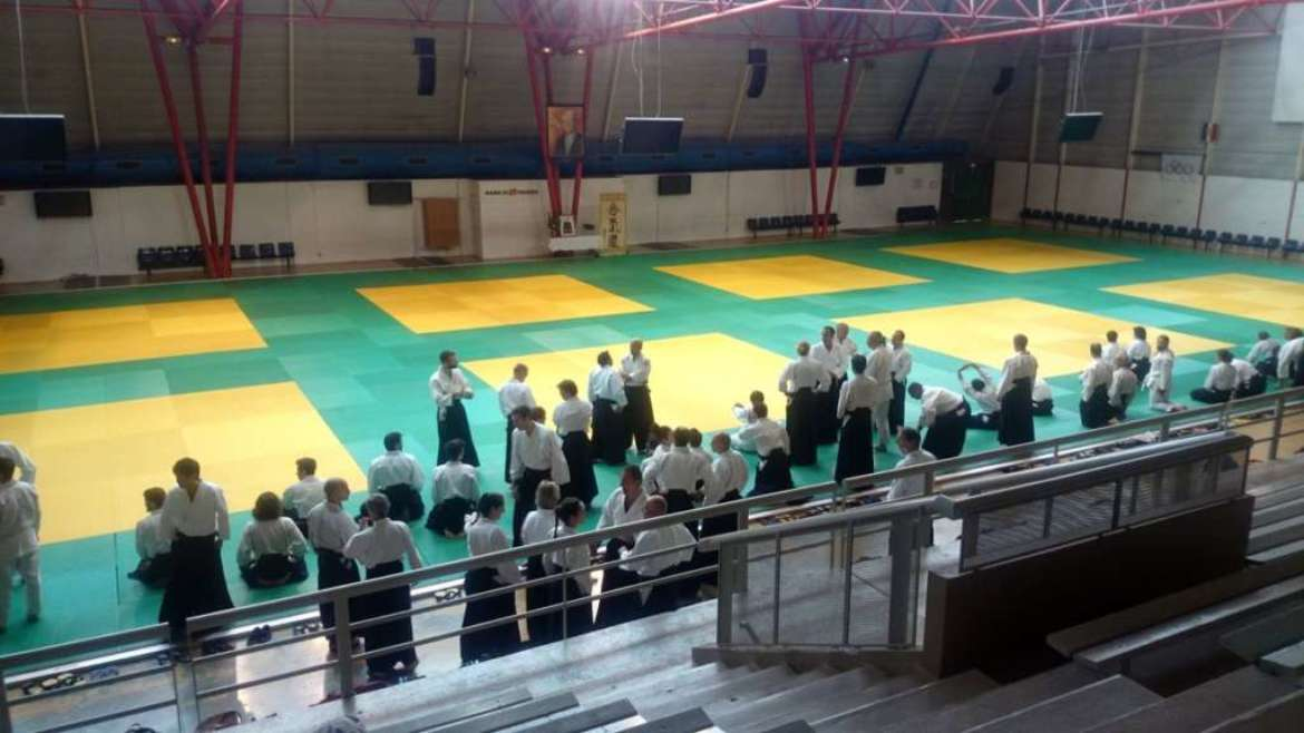 Trip to aikido dojo La Roserai in Toulouse – july 2016