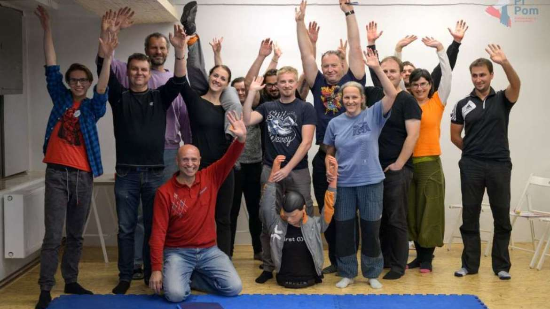 First aid class for aikido teachers