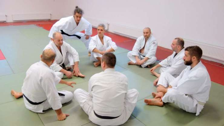 Aikido seminar for teachers in Třebíč