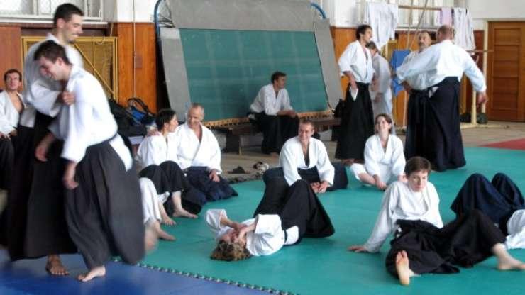 Franck Noel in Aikido Vinohrady, October 2007