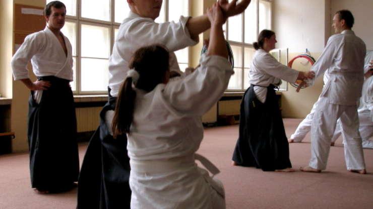 Zdenko Reguli in our dojo (May 2008)