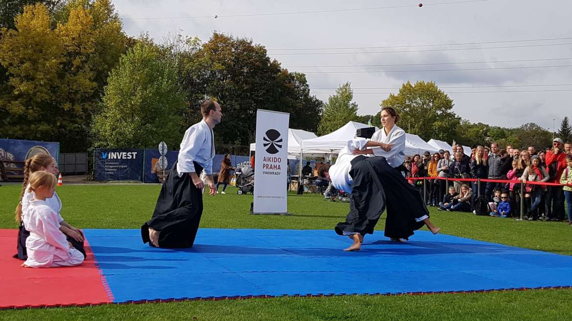 Aikido demonstration – Japanese festival Akimatsuri 2019