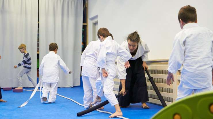 Aikido for the youngest kids