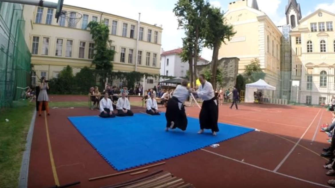 Aikido demo at NatsuCon 2015