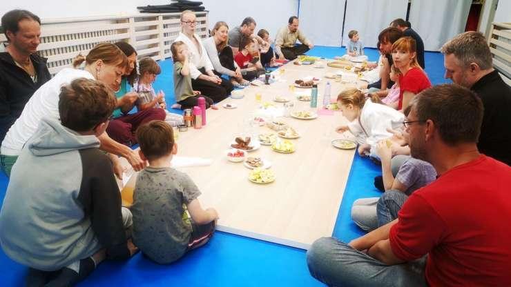 Seminář pro nejmenší aikidisty a jejich rodiče