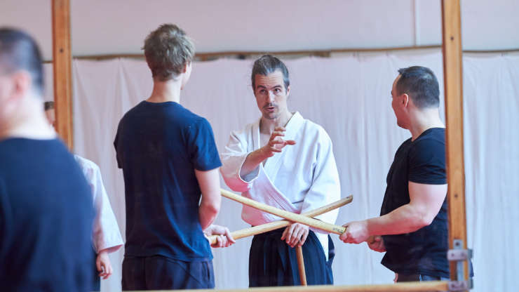 Aikido Teambuilding – movement, fun and corporate training