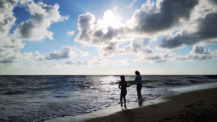 Summer keiko on the island d'Oleron